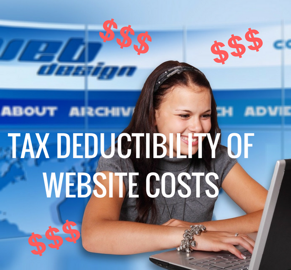 Deductibility of Website Costs